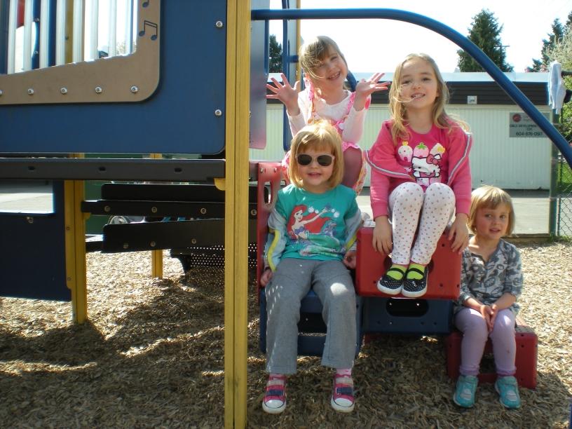 CDC girls climbing frame 2013