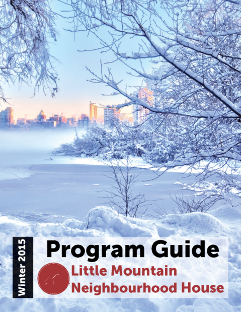 Cover Winter 2015 Program Guide