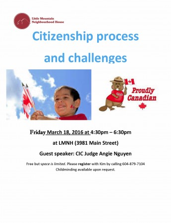 Citizenship process and challenges