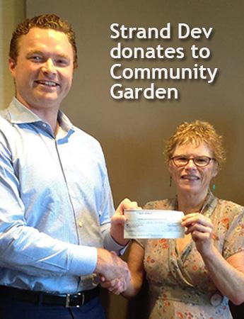 Strand Development donates to Riley Park Community Garden