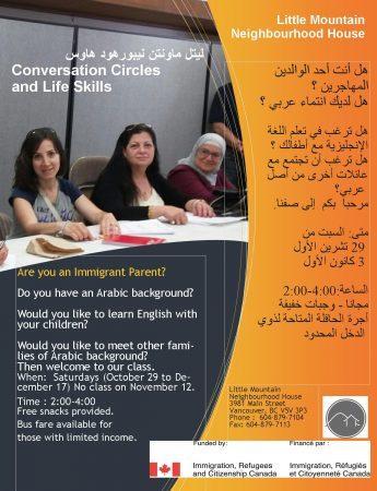 Conversation Circles and Life Skills