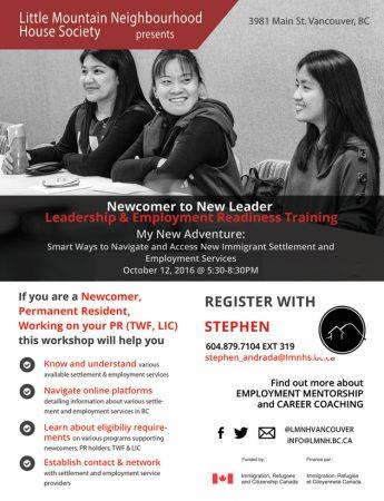 Leadership & Employment Readiness Training