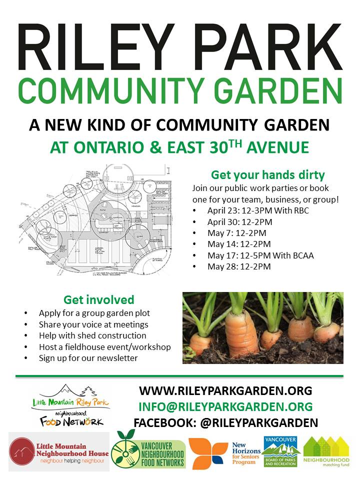 Riley Park Community Garden Little Mountain