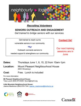 Seniors Outreach and Engagement Training