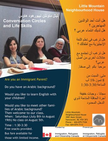 Conversation Circles and Life Skills