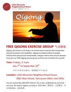 Qigong exercise